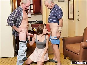 elderly fashioned and daddy pal companion poke crony s daughter-in-law first-ever, always take the