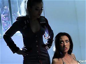 Bad female Capri Cavanni gets penalized by Dani Daniels
