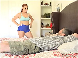 Edyn Blair smashed By immense dark-hued trunk hubby watches