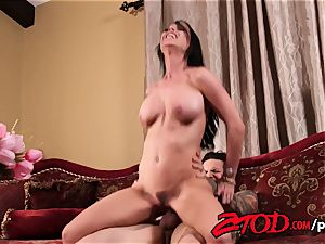 Brandy Aniston tries out her daughters boyfriend