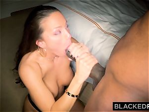BLACKEDRAW Abigail Mac's spouse Sets Her Up With biggest bbc In The World