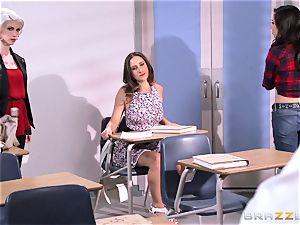 Ashley Adams romps her tutor