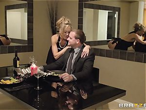 The husband of Brandi enjoy lets her tear up a different fellow