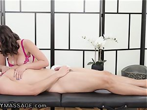 massagist Ella Knox And Her euro step-brother In Law