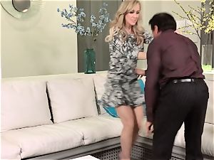 stunning wifey Brandi enjoy gets her husband back