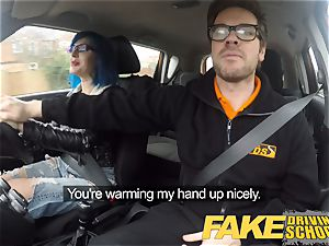 fake Driving school ass fucking lovemaking in point of view Glory