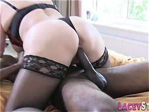 Lacey Starr Gets banged rigid by a dark-hued man