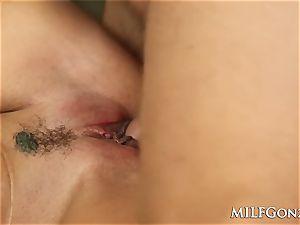 MILFGonzo Ava Adams deep-throats and plumbs her sonnies acquaintance