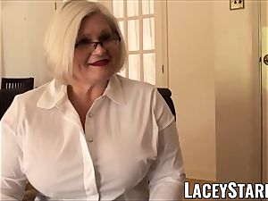 LACEYSTARR - submissive GILF booty plunged by Pascal milky