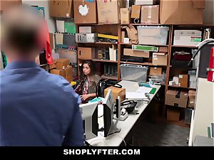 Shoplyfter - Caught Red-Handed And Bribed To pummel