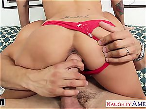 huge-chested dark haired babe Brandy Aniston nailing