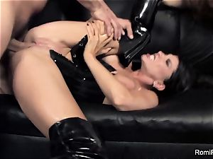 Romi Rain and Alison Tyler Take on a ginormous sausage Together