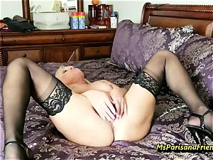 pack Up the Strippers wide open gash with Ms Paris Rose