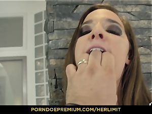 HER restrict - restrain shoving nail fest with Amirah Adara