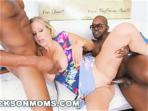 BLACKSONMOMS - Julia Ann Wins three meaty prizes (xa15147)