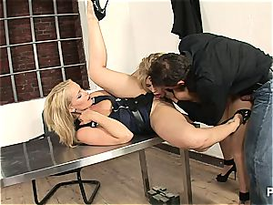 Interrogation gone 3 way