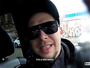 asses BUS - super hot interracial van boink with Czech stunner