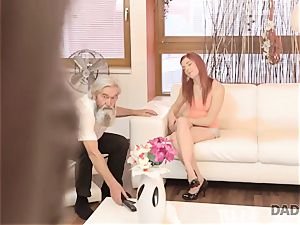 DADDY4K. man and his old father crew up to punish promiscuous girlfriend