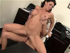 WANKZ- super-naughty mummy chief Gets pounded Until She pumps out