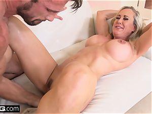 spurting Brandi enjoy loves having a penis in her fuckbox