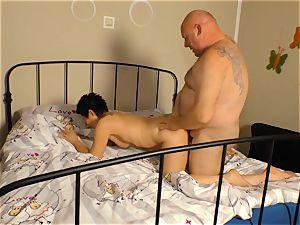 xxxOmas - Mature biotch railing knob and deep-throating penis