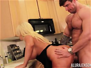 Alura Jenson gets penetrated by thick muscle boy Zeb Atlas