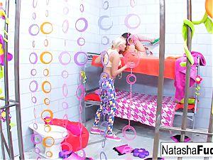 big-boobed Natasha uber-cute humps stunning Vanessa cell