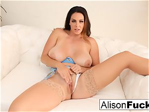 Alison Tyler fondles her cootchie