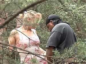 huge-chested german stepmom black jizz-shotgun screwed