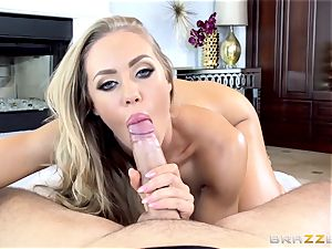 insane Nicole Aniston gets an twat creampie