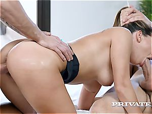 lithe Ally Breelsen gets butt plowed