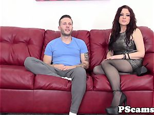 ginger-haired web cam babe Jessica Ryan pussyfucked