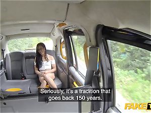 fake taxi Kira Noir and faux cab Tradition