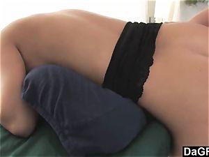 Table massage practice