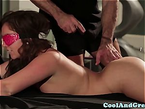 cool Maddy O'Reilly gets her ginger vulva rode