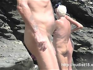 nudist beach voyeur preys on nude lovelies