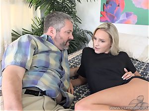 Emma Hix and hubby screw Her young fellow buddy