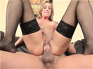 Stepmom Brandi love seduces her stepson