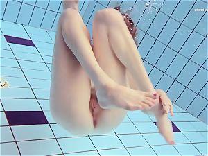 Czech girl Nastya Volna unshaved naturist