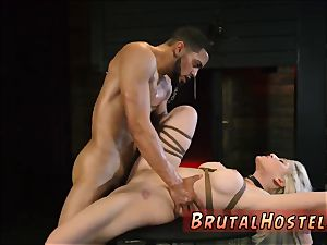 raunchy agony fierce first-ever time Big-breasted ash-blonde cutie Cristi Ann is on vacation