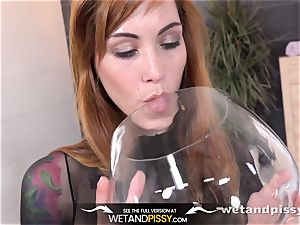 Wetandpissy - wet pornography with crazy red-haired