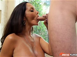 insane dark haired Ava Addams has her fantastic snatch violated into
