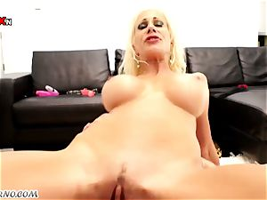 2 luxurious nasty milf Puma Swede & Franceska Jaimes enjoy hardcore three-way