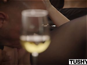 cuckold wife Dana DeArmond enjoys buttfuck