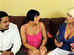 Alura Jenson gets a bit insatiable and embarks to spank