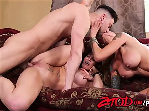 milf 3 way what a humping party