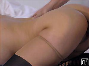 gf gobbles spunk Off Karlee Grey's immense tits S4:E12
