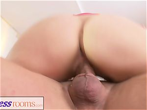 sport apartments hump thirsty light-haired Russian mummy blow
