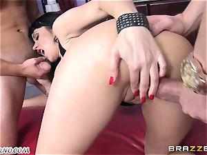 toasted mummy Eva Karera with giant boobies indulges on the party