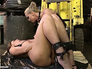 Andy brown and Kathia Nobili culo dildoing hard